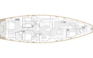 Oyster Brokerage Used Sailing Yachts For Sale Oyster 82 Mathilda Sound Interior Layout