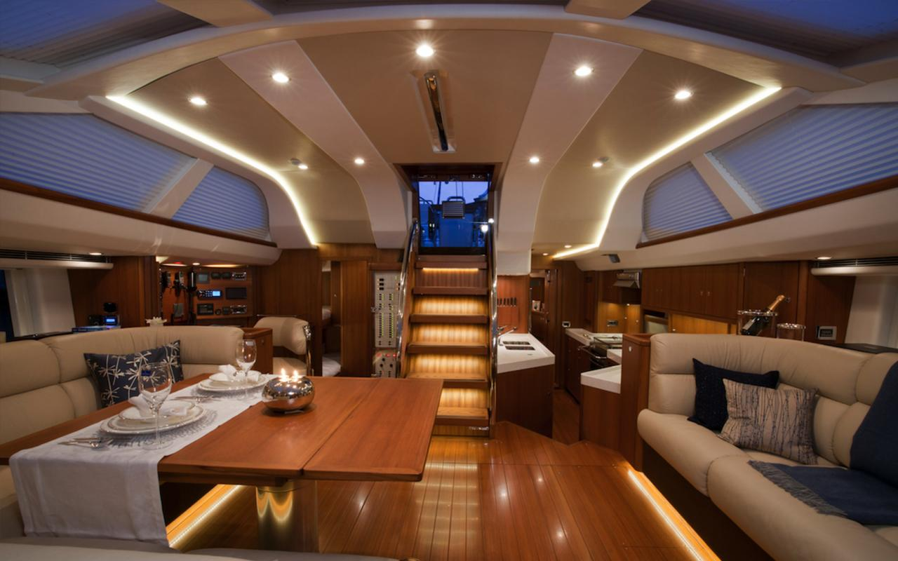oysteryachts charter 625 blacklion saloon 1680x1050