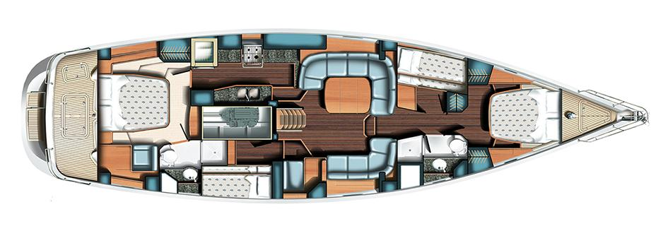 Irene III Interior Layout