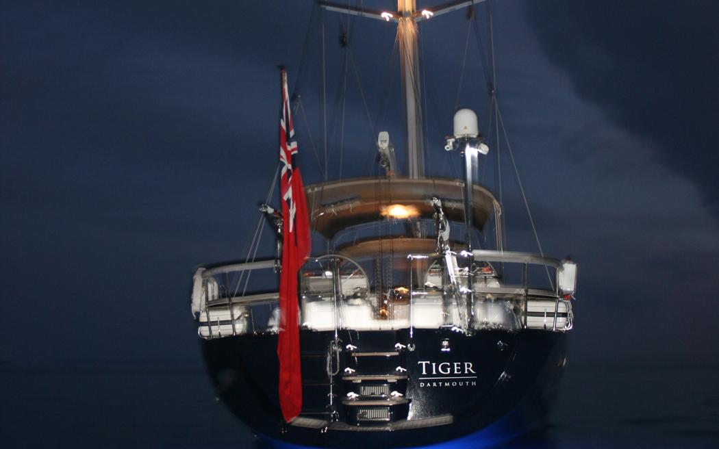oysteryachts charter 625 tiger sternlights 1050