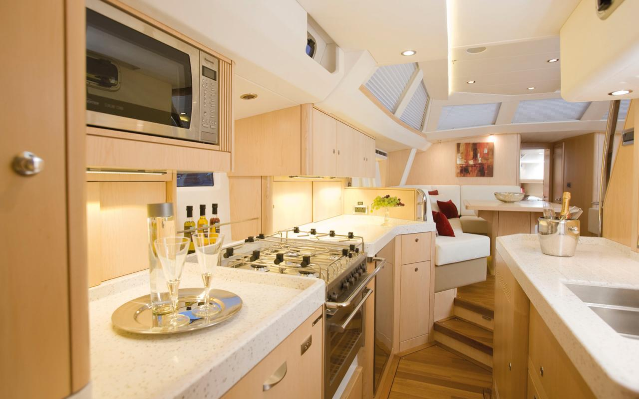oysteryachts yachts 575 maple galley 1680x1050