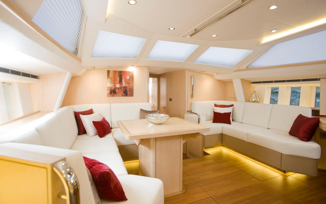 oysteryachts yachts 575 maple saloon 1680x1050