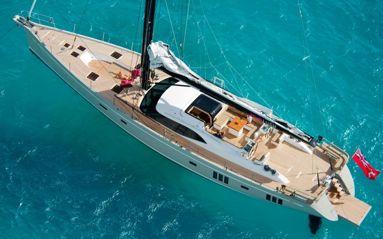 oysteryachts yachts 885 lush anchored 1680x1050