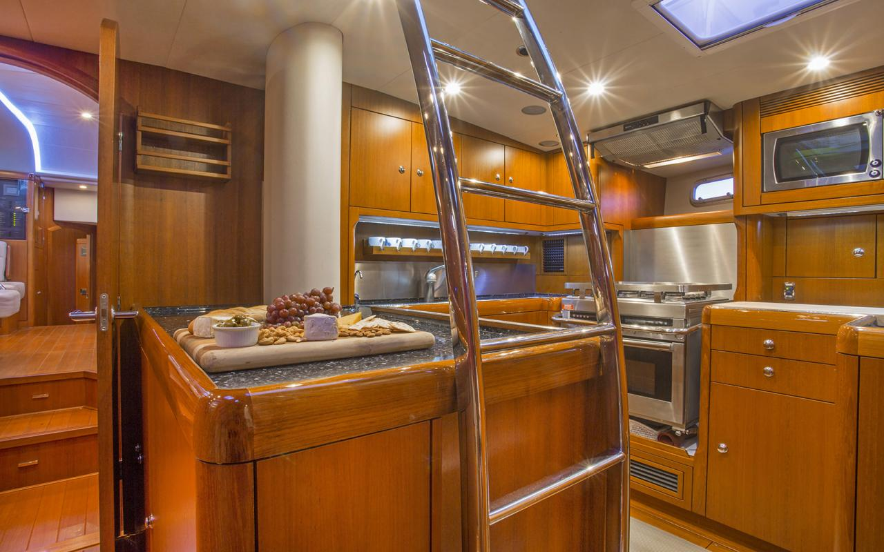 Oyster yachts brokerage Magrathea saloon 3