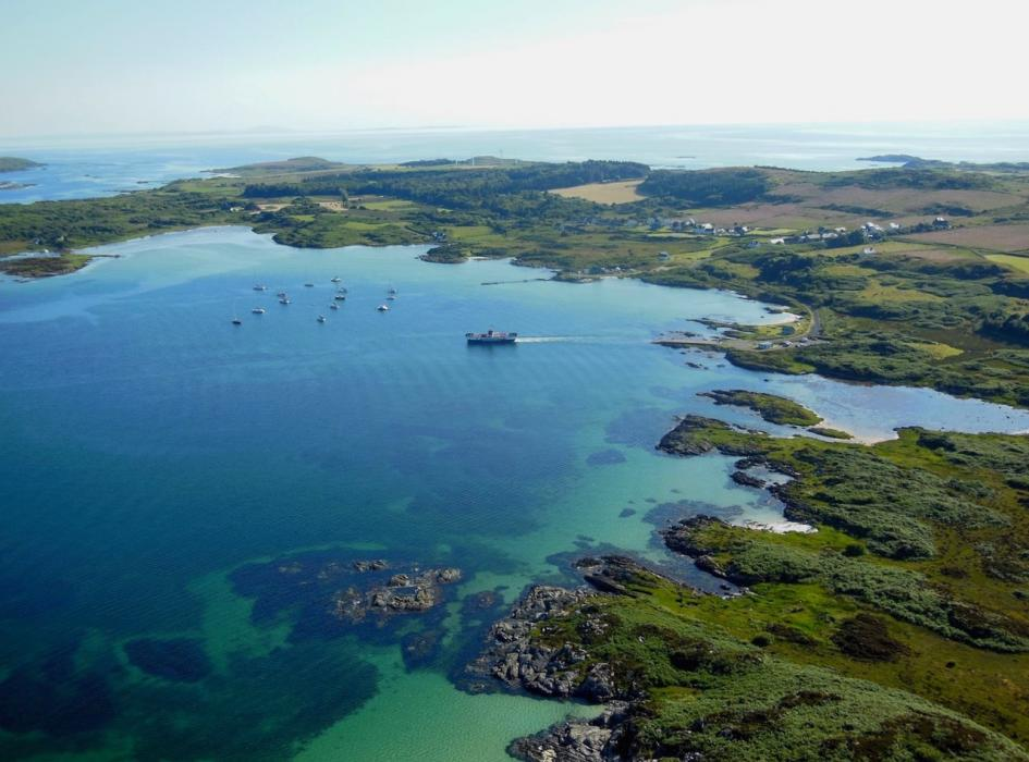 Ferry Slip Image credit The Isle of Gigha Heritage Trust