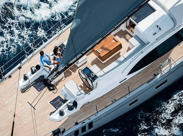 Oyster 745 75 Foot offshore Sailboat Luxury D