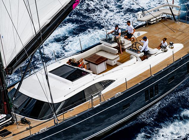 Oyster 885 90 Foot Sailboat Luxury Yacht D