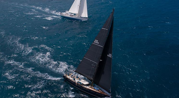 oyster 625 black lion oyster antigua regatta 2019