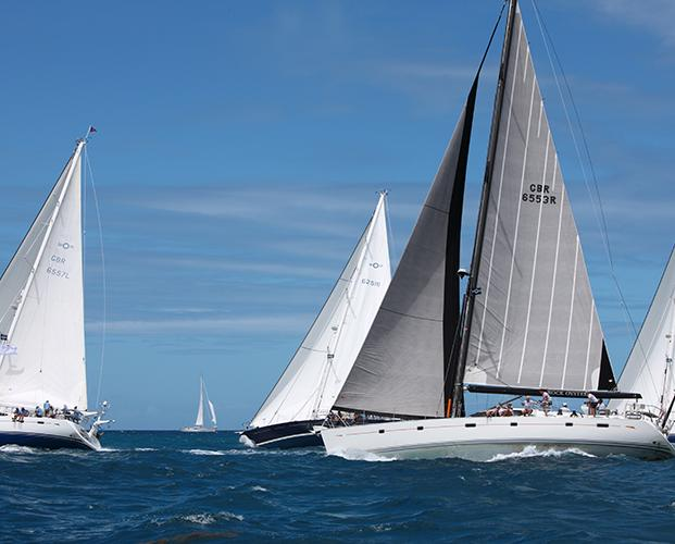 oyster sailing yachts antigua regatta 2019