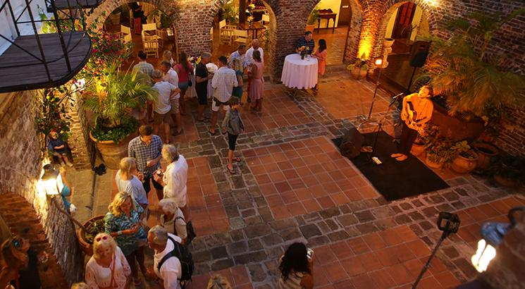 oyster yachts antigua regatta prize giving party