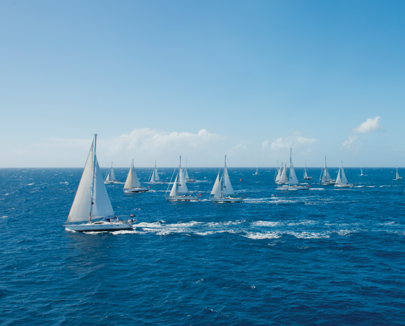 Oyster yachts sailing around the world on the oyster world yacht rally