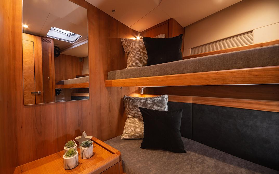 Oyster 565 Interior Bunk Guest Cabin