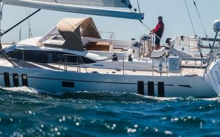 Oyster Yachts 565 Seascape Hull Windows