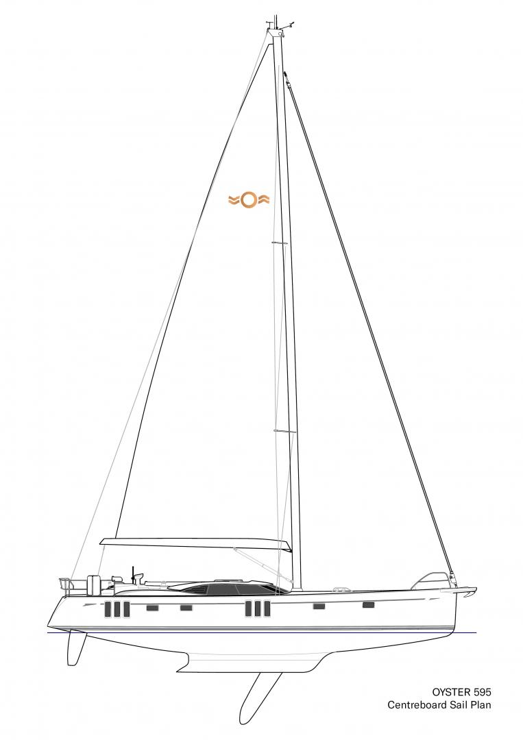 Oyster 595 60 Foot Sailing Yacht | Blue Water Cruiser