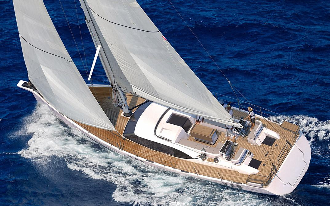 Oyster 595 60 Foot Sailing Yacht Composite