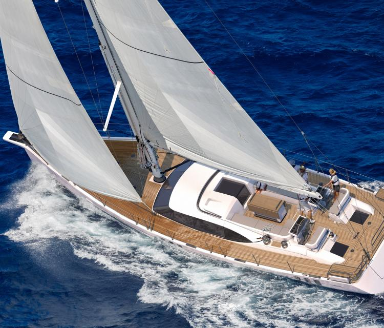Overhead Composite Oyster 595 New Sailboat for Sale