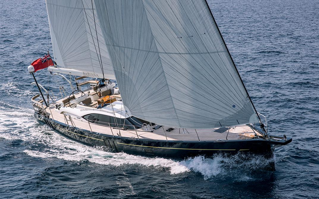 Oyster 675 Bluewater Sailboat Underway