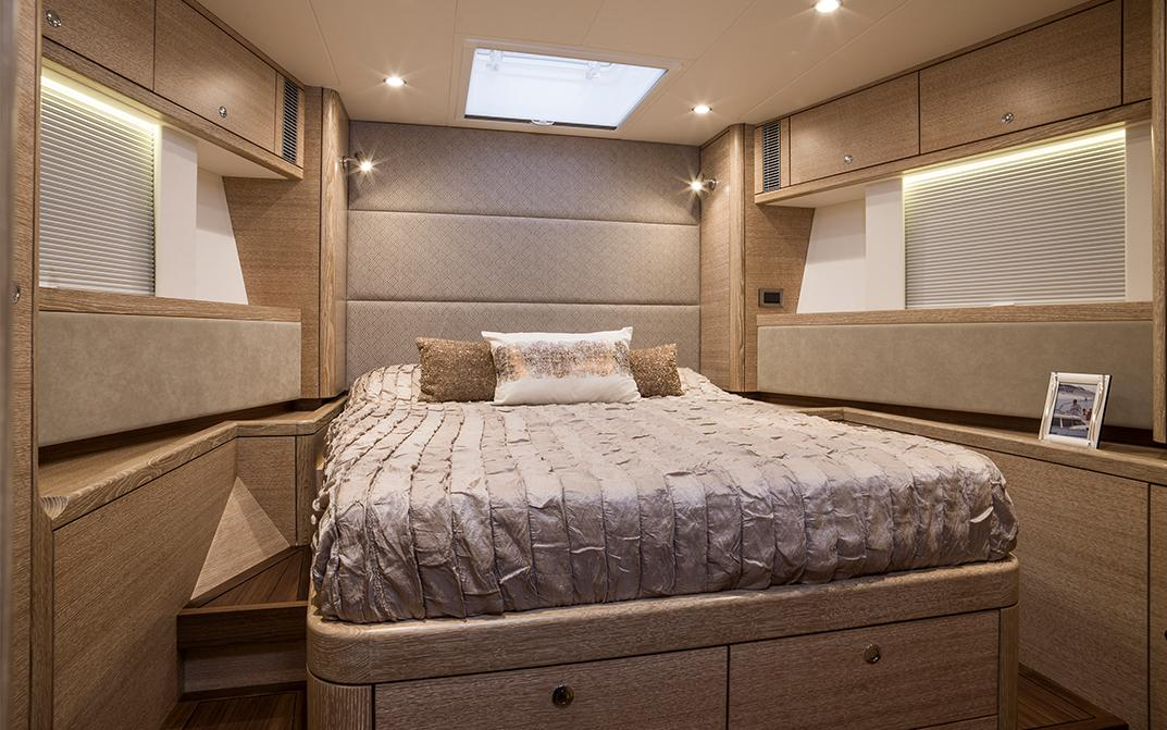 Oyster 675 Interior Forward Double Cabin