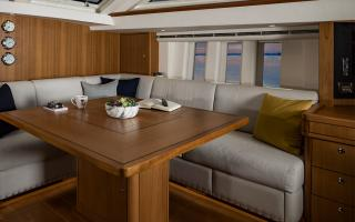 Oyster 675 Sailing Yacht Saloon