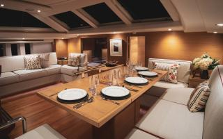 Oyster 745 75 Foot Sailing Yacht Interior 1
