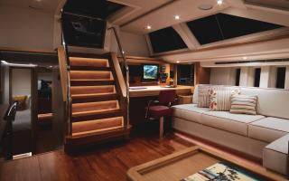 Oyster 745 75 Foot Sailing Yacht Interior 2
