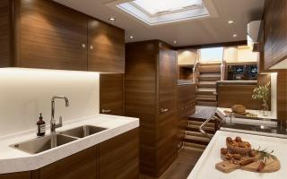 Oyster 745 75 Foot Sailing Yacht Interior Render 2