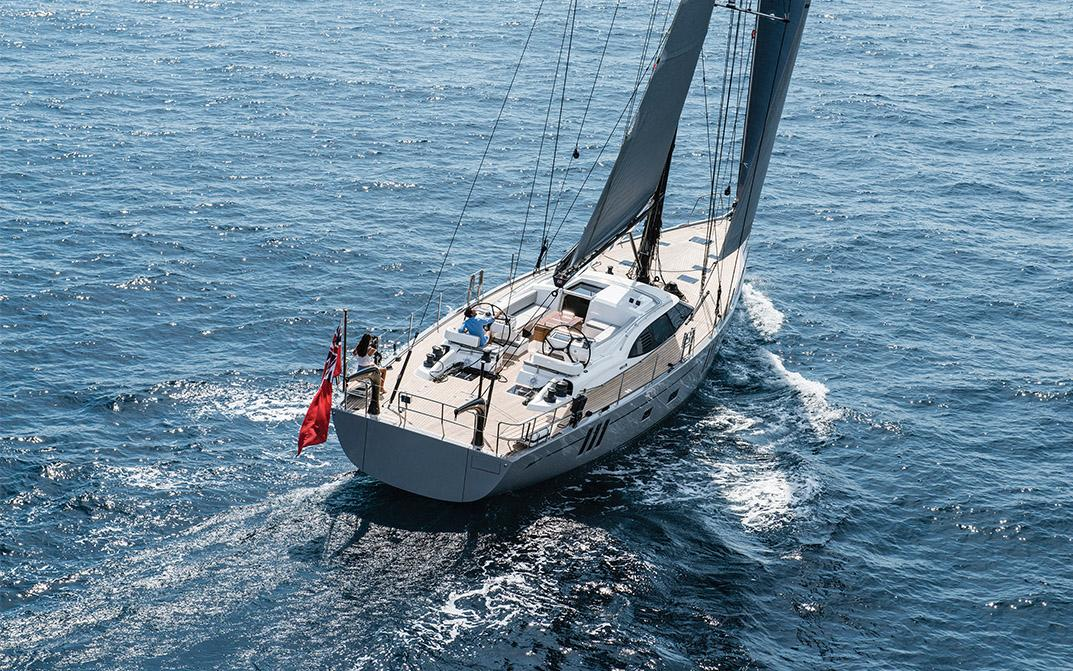Oyster 675 Graycious Luxury Offshore Sailboat