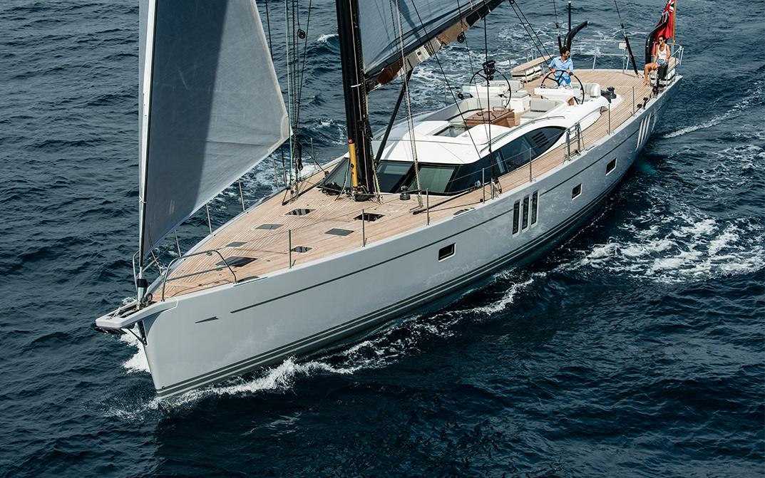 Oyster 745 Luxury Offshore Sailboat Sailing