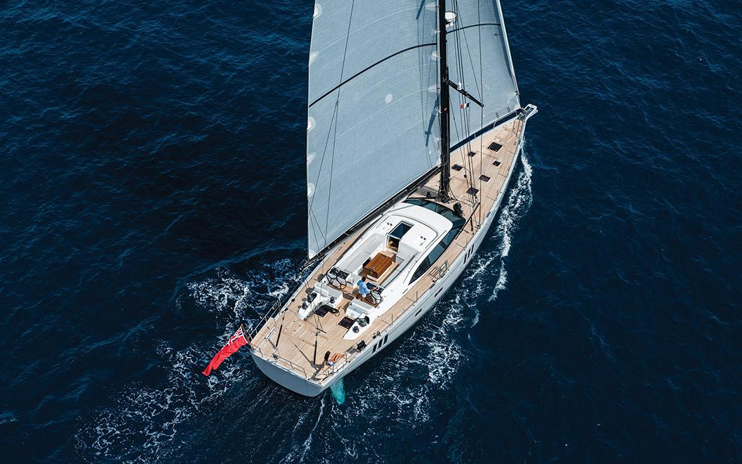 Oyster 745 Offshore Sailboat Sailing