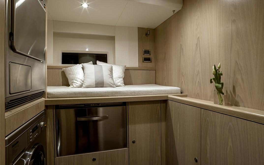 Oyster 745 Sailing Yacht Laundry Room