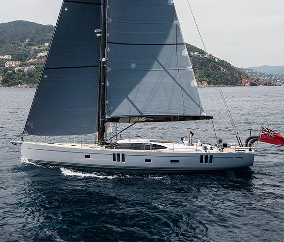Oyster 745 Luxury Sailing Yacht Underway