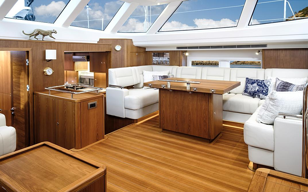 Oyster 885 Luxury Sailboat with Lower Saloon Configuration