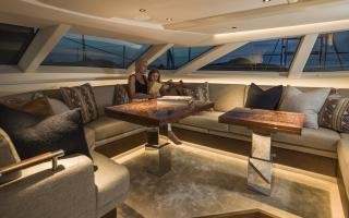 Oyster 885 Luxury Sailboat with Walnut Wood Interior