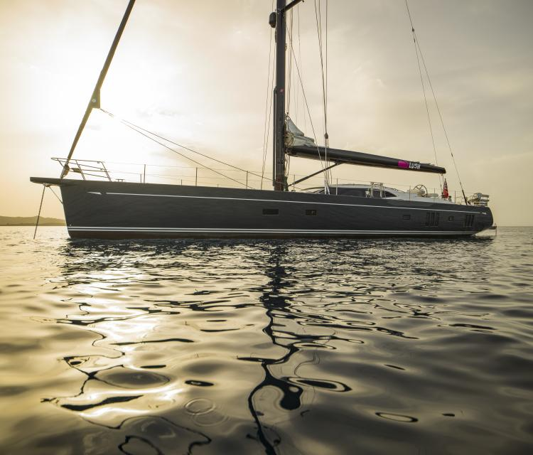 Oyster 885 Series 2 Luxury Sailing Yacht Exterior