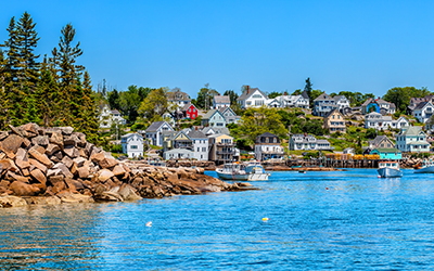 Enjoy Coastal Scenery on Maine Yacht Charters