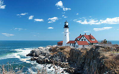 New England Yacht Charters in Maine