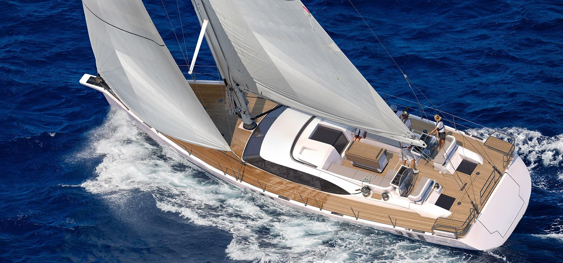 Oyster 595 60 Foot Sailing Yacht