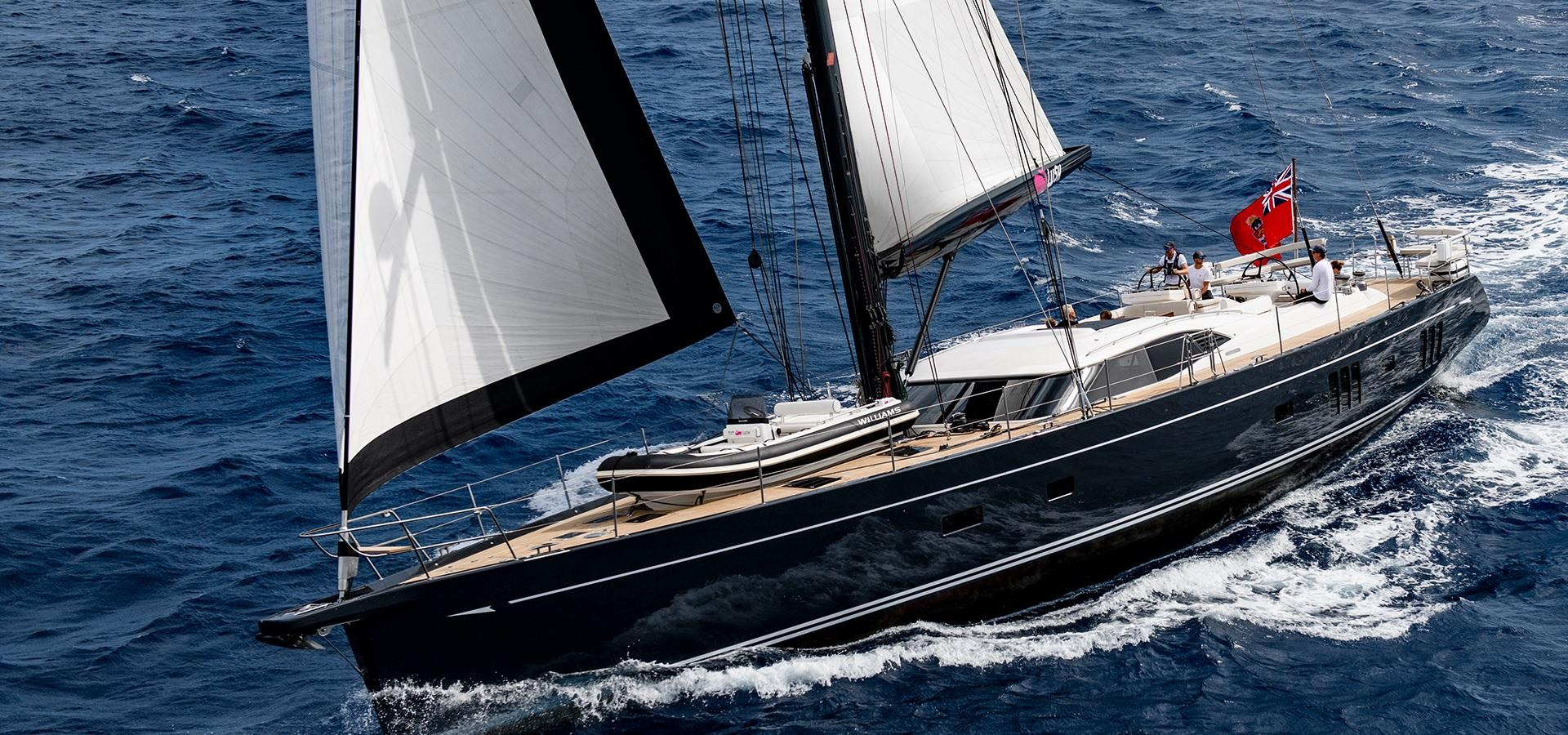 Oyster 885 90 Foot Sailboat Luxury
