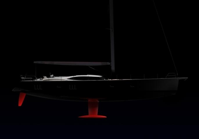 Oyster 885GT Silhouette sailing yacht racing performance P1 v2