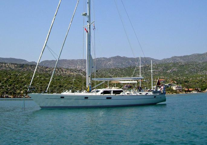 Oyster 55 Scirocco IV Yacht