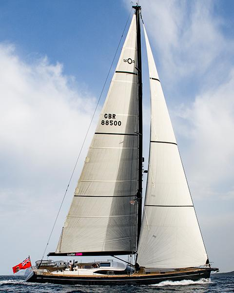 Oyster 885 Series Ii 90 Foot Sailboat Luxury Sailboat