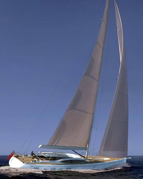 Oyster 1225 120 Foot Sailing Superyacht