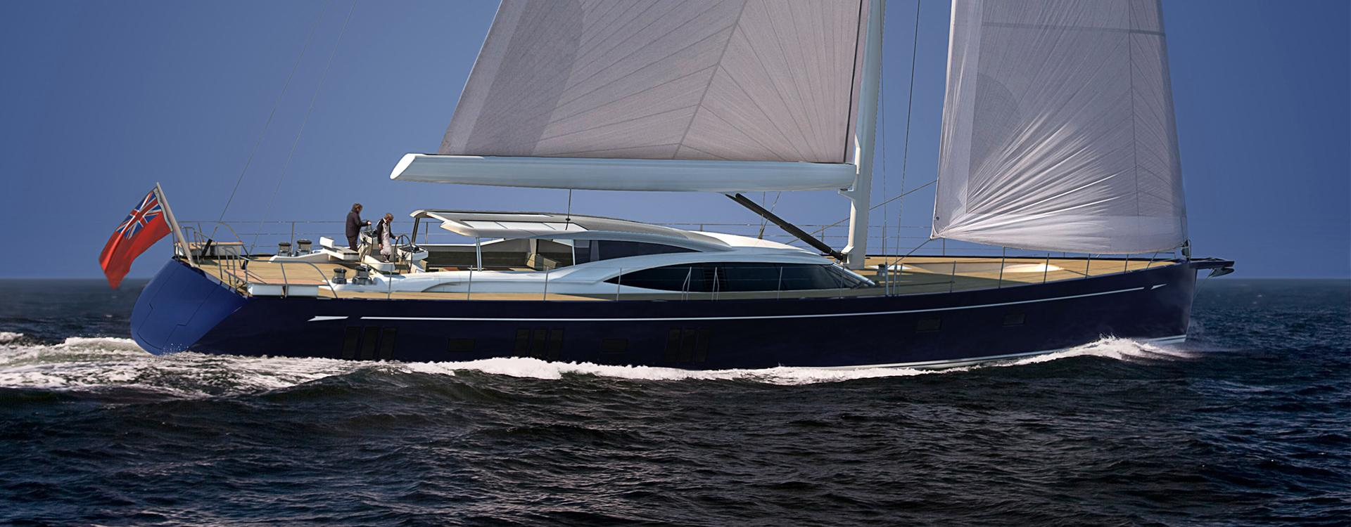 Oyster 1225 120 Foot Sailing Yacht