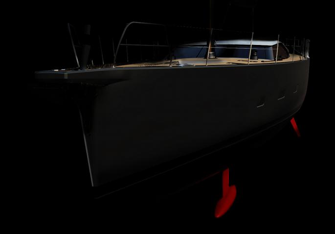 oyster 885GT performance sailing yacht bow