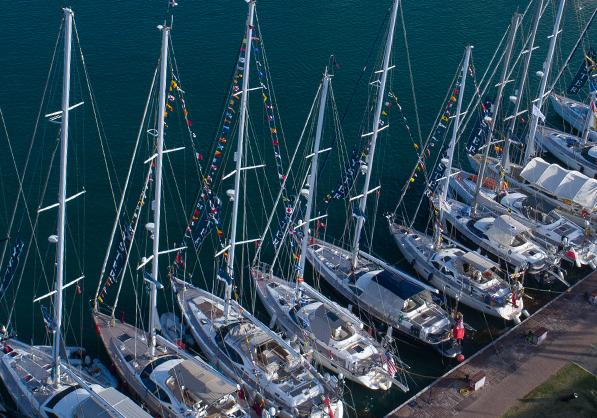 Oyster Yachts Gather in Antigua