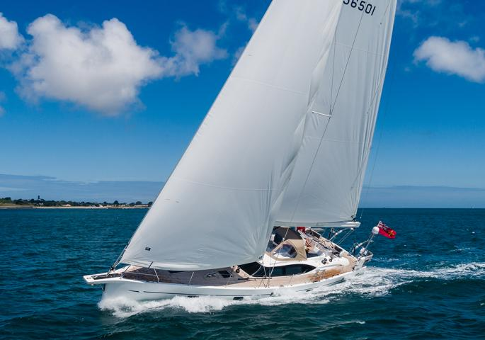 oyster yachts 565 60 foot sailboat