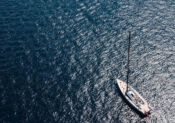 oyster yachts 745 75 foot sailing yacht aerial view T v3