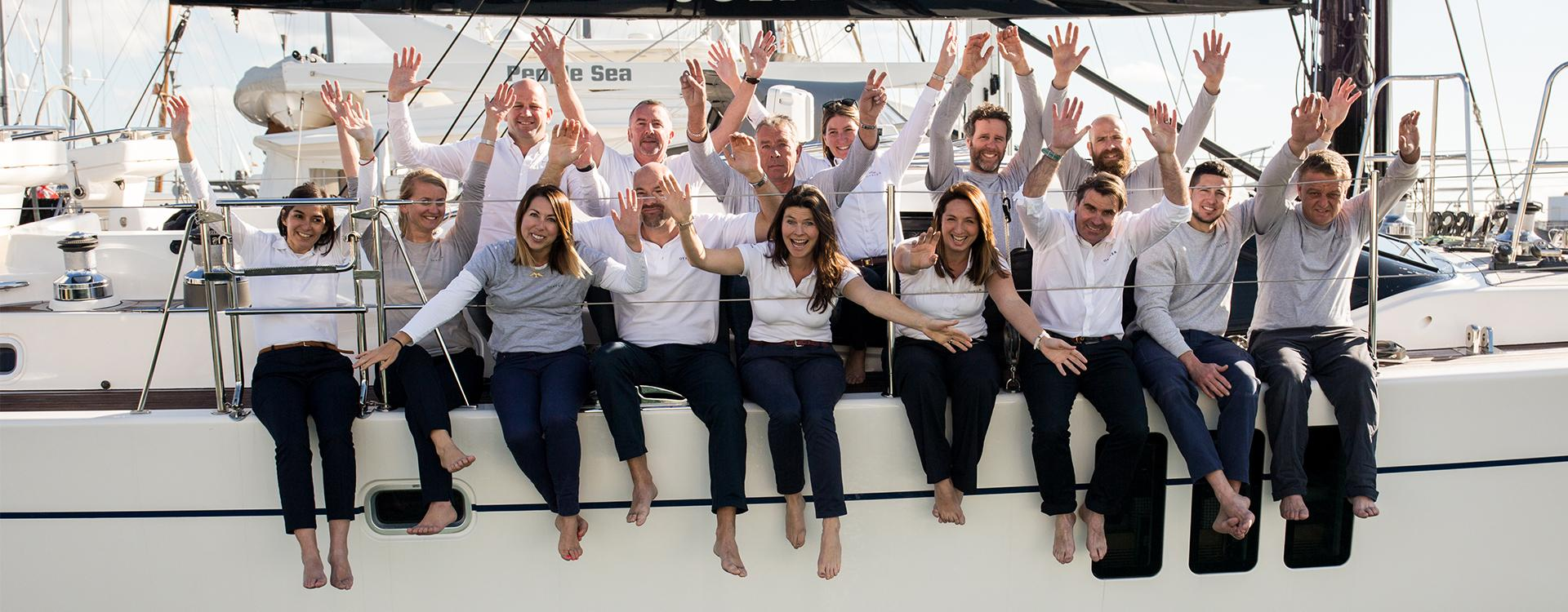 The Team at Oyster Yachts Palma