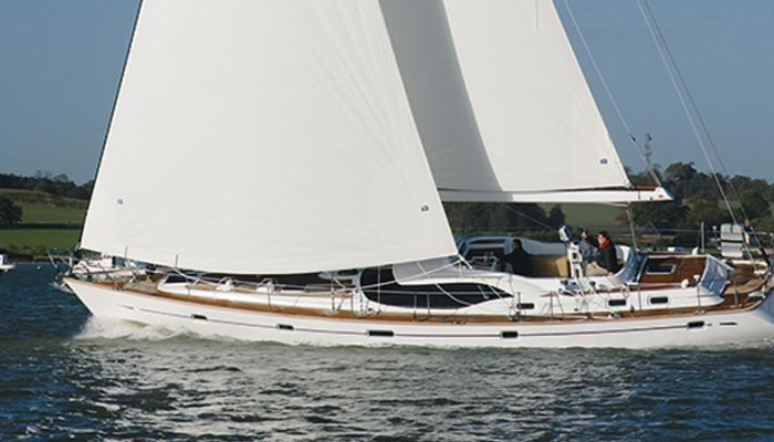 Oyster 56 Heritage Yacht