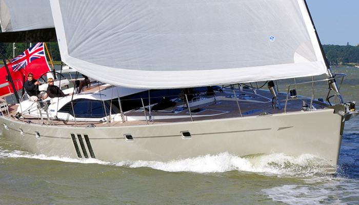 Oyster 725 Heritage Yacht